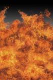 爆燃火地域 库存图片