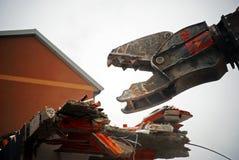 爆破机械 免版税库存照片
