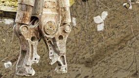 爆破具体粉碎机下颌 免版税图库摄影