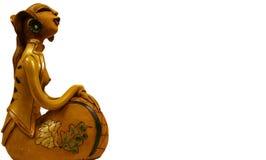 爪哇夫人雕塑 库存图片