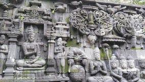 爪哇石雕塑 免版税库存照片