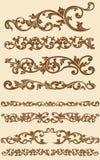 爪哇葡萄酒花饰设置了1 免版税库存照片
