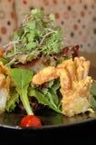 爪螃蟹沙拉 库存图片
