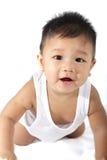 爬行的婴儿 免版税图库摄影