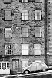 爱丁堡冬天 免版税库存图片