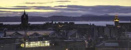 爱丁堡地平线耸立二 图库摄影