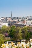爱丁堡地平线视图 免版税库存照片