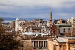 爱丁堡地平线 库存图片
