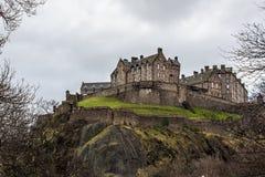 爱丁堡城堡 免版税图库摄影
