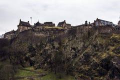 爱丁堡城堡  库存照片