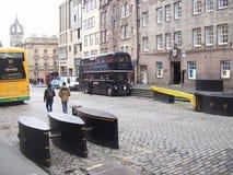 爱丁堡城市的历史游览看见历史大厦 免版税图库摄影