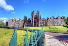 爱丁堡大学 免版税库存照片