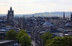 爱丁堡新的苏格兰城镇英国 库存照片