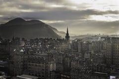 爱丁堡早晨 库存照片
