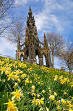 爱丁堡春天 库存图片