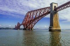 爱丁堡桥梁 图库摄影