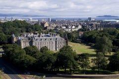 爱丁堡横向 库存图片