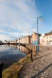 爱丁堡港口leith苏格兰 免版税库存照片