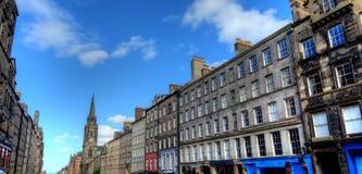 爱丁堡皇家英里 库存图片