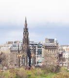 爱丁堡纪念碑苏格兰 库存图片