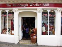 爱丁堡羊毛磨房 免版税图库摄影