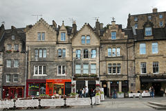 爱丁堡老镇爱丁堡- 免版税库存照片
