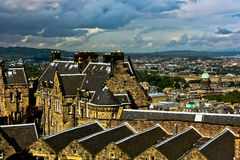 爱丁堡视图 免版税库存图片