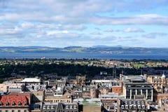 爱丁堡视图 免版税库存照片