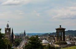 爱丁堡视图 库存图片