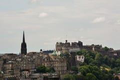 爱丁堡视图 库存照片