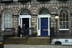 爱丁堡豪宅 免版税图库摄影