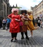 爱丁堡边缘节日2016年 库存图片