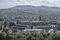 爱丁堡,看法 免版税库存图片