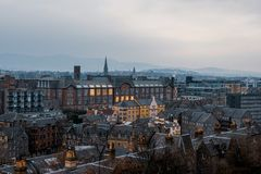 爱丁堡,苏格兰,英国  库存照片