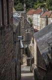 爱丁堡,苏格兰,英国- Village教务长 免版税库存图片