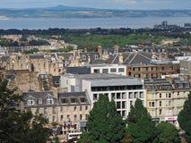 爱丁堡-地平线 免版税库存图片