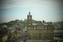 爱丁堡 库存照片