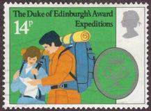 爱丁堡` s奖公爵的皇家邮票 免版税图库摄影