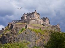 爱丁堡castel 免版税图库摄影