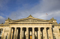 爱丁堡museumn 免版税库存图片