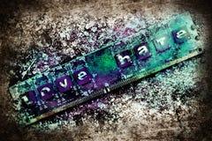 爱与恨交织 库存图片