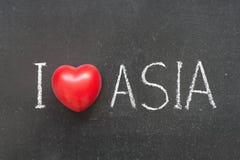 爱亚洲 免版税库存图片