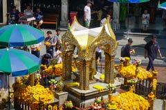爱侣湾寺庙在曼谷,泰国 图库摄影