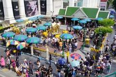 爱侣湾寺庙在曼谷,泰国 免版税图库摄影