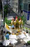 爱侣湾寺庙在曼谷,泰国 库存图片