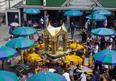 爱侣湾寺庙在曼谷,泰国 免版税库存照片
