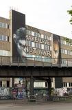 爱做不是战争 免版税图库摄影