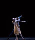 爱古典芭蕾` Austen汇集`亲吻  库存照片