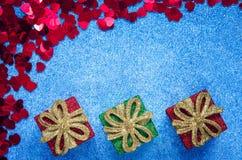 爱和圣诞节概念 免版税图库摄影