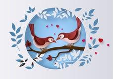 爱和情人节的例证 皇族释放例证